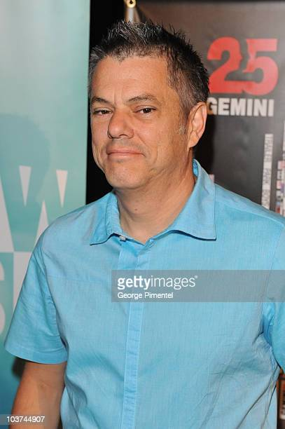 Executive Producer for Global TV David Kines attends the 25th Annual Gemini Awards Press Conference at Sutton Place Hotel on August 31, 2010 in...