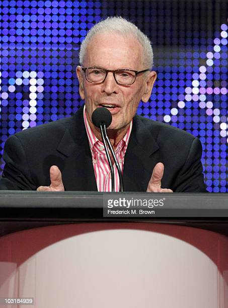 Executive Producer Gene Reynolds accepts the Heritage Award for M*A*S*H onstage during the 26th Annual Television Critics Association Awards at the...