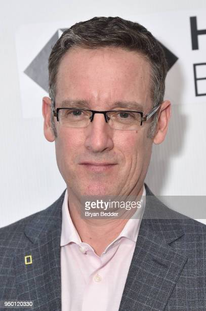 Executive Producer Geoff Daniels attends the National Geographic premiere screening of Into the Okavango on April 22 2018 at the Tribeca Film...