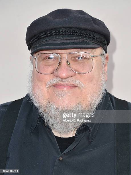 """Executive Producer George R.R. Martin attends The Academy of Television Arts & Sciences' Presents An Evening With """"Game of Thrones"""" at TCL Chinese..."""