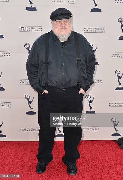 Executive Producer George RR Martin attends The Academy of Television Arts Sciences' Presents An Evening With Game of Thrones at TCL Chinese Theatre...