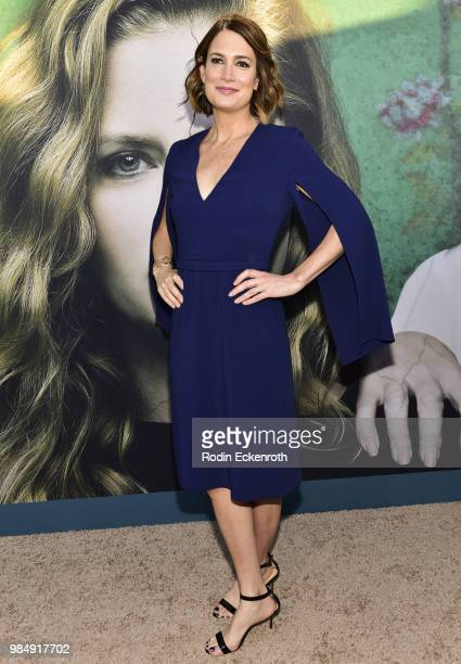 Executive Producer Gillian Flynn attends the Los Angeles premiere of the HBO limited series 'Sharp Objects' at ArcLight Cinemas Cinerama Dome on June...