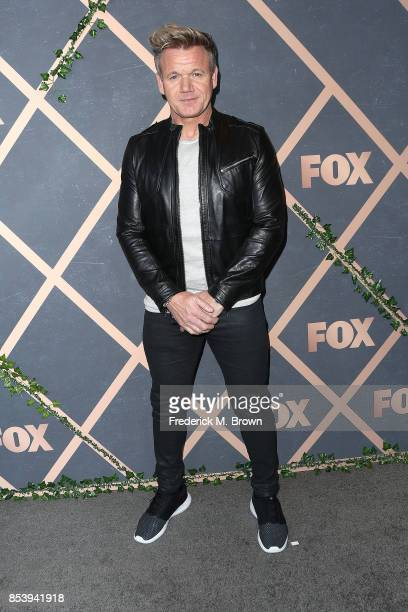 Executive Producer Gordon Ramsay attends FOX Fall Party at Catch LA on September 25 2017 in West Hollywood California