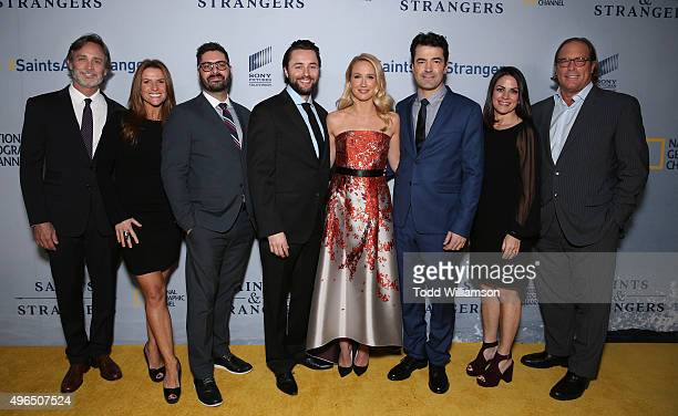 Executive Producer Grant Scharbo Executive Producer Gina Matthews National Geographic Channel President Tim Pastore Vincent Kartheiser Anna Camp Ron...