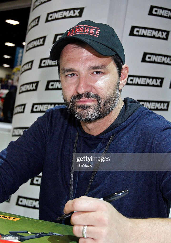 Executive producer Greg Yaitanes attends Cinemax's 'Banshee' cast autograph signing at San Diego Convention Center on July 19, 2013 in San Diego, California.