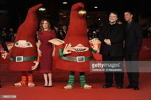 Executive producer Guillermo del Toro producer Christina Steinberg and director Peter Ramsey attend 'Rise Of The Guardians' Premiere during The 7th...