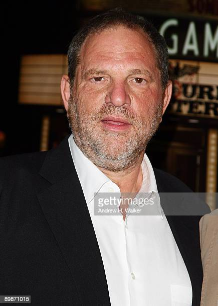 Executive producer Harvey Weinstein attends the New York special screening of The Weinstein Company's INGLOURIOUS BASTERDS at Cinema 2 on August 18...