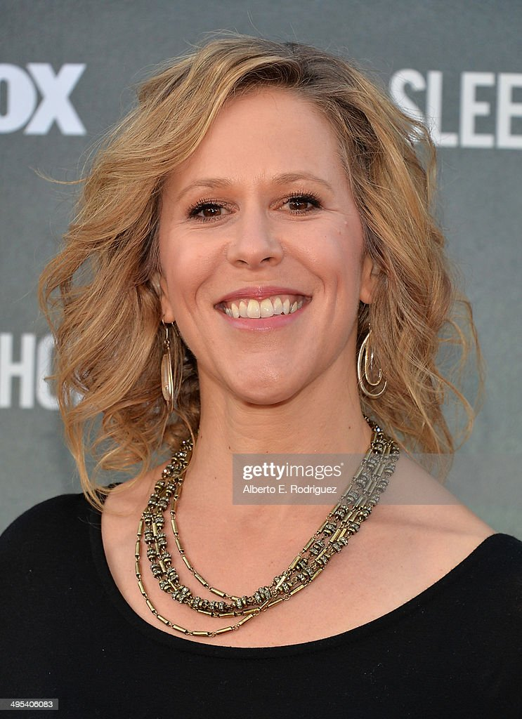 Executive producer Heather Kadin arrives to a special screening of Fox's 'Sleepy Hollow' at Hollywood Forever on June 2, 2014 in Hollywood, California.