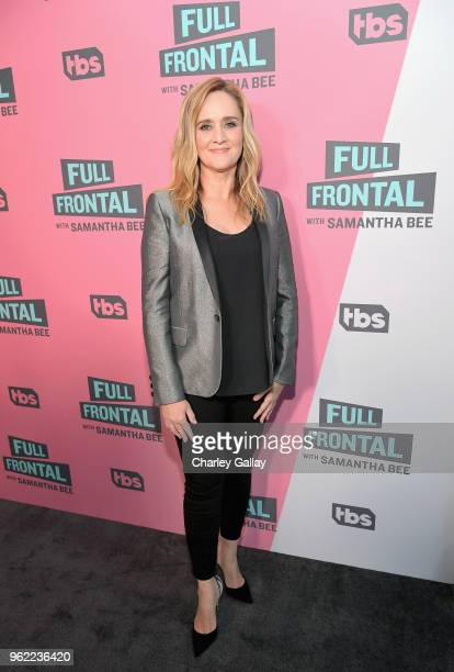 Executive Producer Host Samantha Bee attends 'Full Frontal with Samantha Bee' FYC Event Los Angeles at The WGA Theater on May 24 2018 in Beverly...