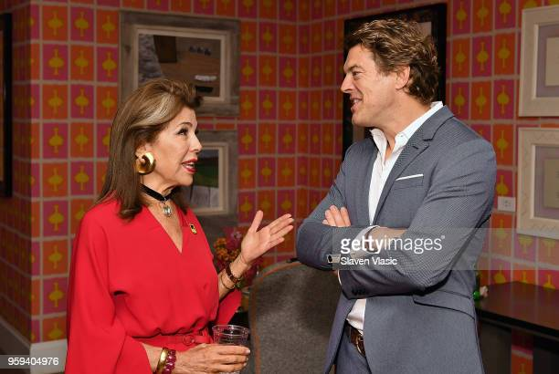 Executive producer HRH Princess Firyal of Jordan and Executive producer Jason Blum attend 'This is Home A Refugee Story' New York Premier Screening...