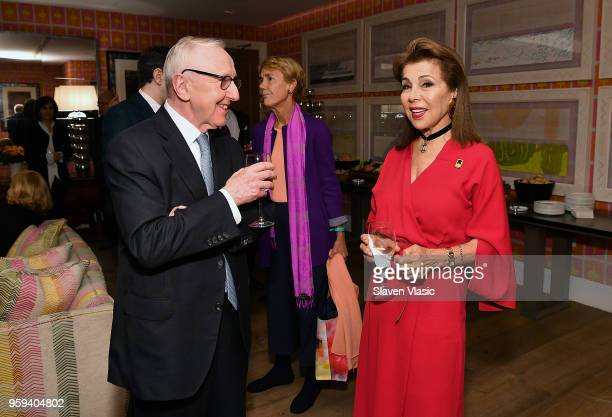Executive producer HRH Princess Firyal of Jordan and guest attend 'This is Home A Refugee Story' New York Premier Screening at Crosby Street Hotel on...