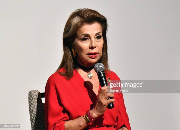 Executive producer HRH Princess Firyal of Jordan attends panel discussion for 'This is Home A Refugee Story' New York Premier Screening at Crosby...