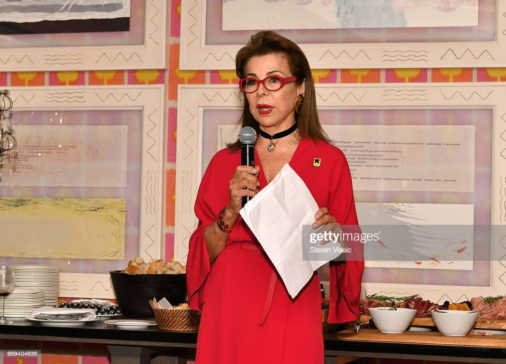Executive producer HRH Princess Firyal of Jordan attends 'This is Home: A Refugee Story' - New York Premier Screening at Crosby Street Hotel on May 16, 2018 in New York City.