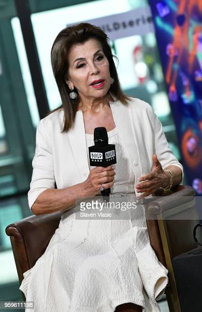 Executive producer HRH Princess Firyal of Jordan visits Build Series to discuss 'This Is Home A Refugee Story' documentary at Build Studio on May 17...