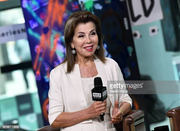 Executive producer HRH Princess Firyal of Jordan visits Build Series to discuss This Is Home A Refugee Story documentary at Build Studio on May 17...