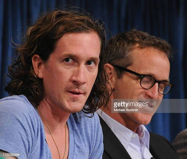 Executive Producer Ian Brennan and Executive Producer Dante di Loreto attend the Paley Center for Media's Paleyfest 2011 Event honoring Glee at the...