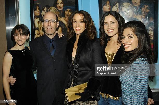 Executive producer Ilene Chaiken Showtime Chairman and CEO Matt Blank Jennifer Beals Rachel Shelley and Sarah Shahi