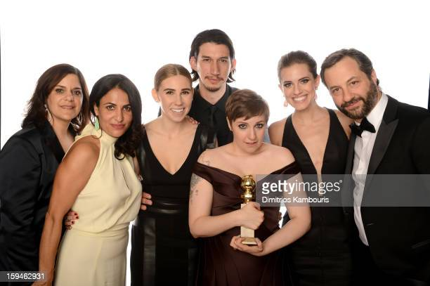Executive Producer Ilene Landress Writer/Producer Jennifer Konner actress Zosia Mamet actor Adam Driver actress/writer Lena Dunham Allison Williams...