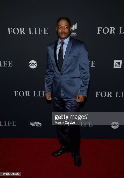 Executive Producer Isaac Wright Jr attends ABC's For Life New York premiere at Alice Tully Hall Lincoln Center on February 05 2020 in New York City