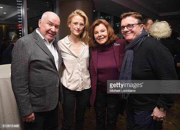 Executive Producer Jack O'Brien and actors Mamie Gummer Marsha Mason and Nathan Lane attend the HBO screening of Becoming Mike Nichols at HBO Theater...
