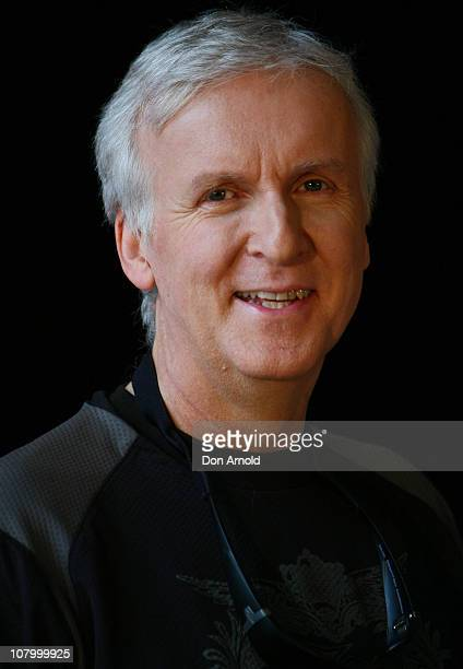 Executive producer James Cameron poses during a promotion of Sanctum at The Entertainment Quarter on January 12 2011 in Sydney Australia