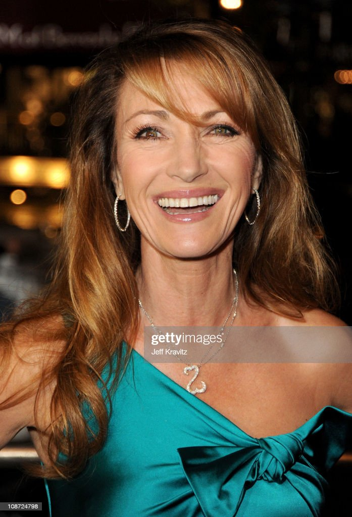 Executive producer Jane Seymour arrives at the Los Angeles premiere of 'Waiting for Forever' held at Pacific Theaters at the Grove on February 1, 2011 in Los Angeles, California.