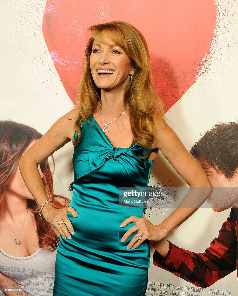 Executive Producer Jane Seymour arrives for the Los Angeles premiere of 'Waiting For Forever' at The Grove on February 1, 2011 in Los Angeles, California.