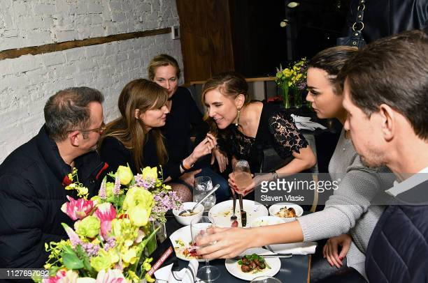 Executive producer Jemima Khan filmmaker Alexis Bloom director/executive producer Amy Berg and guests attend after party for NY premiere of HBO's The...
