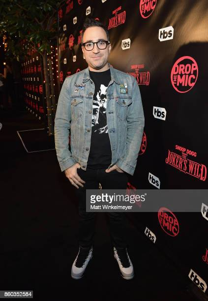 Executive producer Jensen Karp TBS' Drop the Mic and The Joker's Wild Premiere Party at Dream Hotel on October 11 2017 in Hollywood California Shoot...