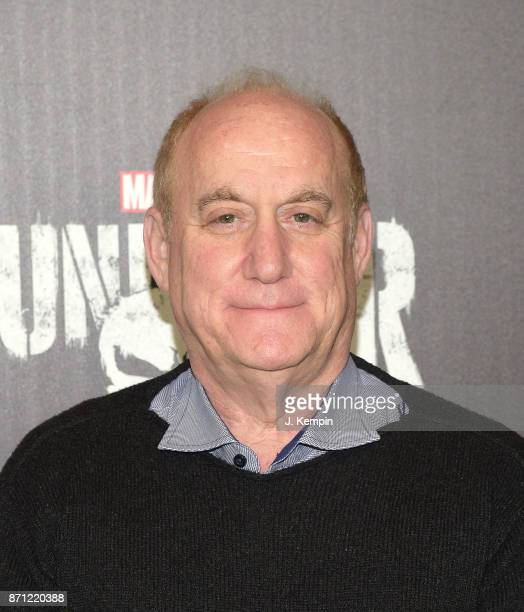 Executive Producer Jeph Loeb attends the 'Marvel's The Punisher' New York Premiere on November 6 2017 in New York City