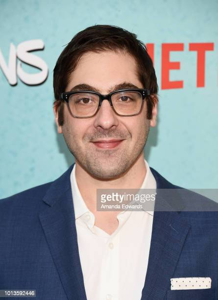Executive producer Jeremy Bronson arrives at a screening of Netflix's 'All About The Washingtons' at Madera Kitchen Bar on August 8 2018 in Hollywood...