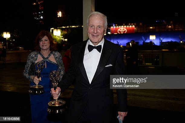 Executive Producer Jerry Weintraub winner of Outstanding Miniseries or Movie for 'Behind the Candelabra' attends the Governors Ball during the 65th...