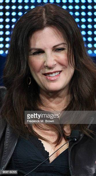 """Executive producer Jill Franklyn of the television show """"Gravity"""" speaks during the Starz Network portion of The 2010 Winter TCA Press Tour at the..."""