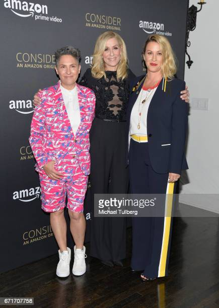 Executive Producer Jill Soloway actress Judith Light and singer Alanis Morissette attend Amazon Prime Video's Emmy FYC event and screening for...
