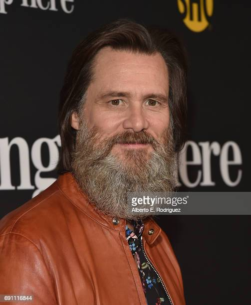 Executive producer Jim Carrey attends the premiere of Showtime's 'I'm Dying Up Here' at the DGA Theater on May 31 2017 in Los Angeles California