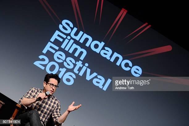 Executive producer JJ Abrams attends the '112263' Sundance premiere QA on January 28 2016 in Park City Utah