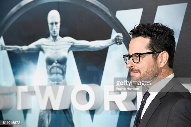 Executive producer JJ Abrams attends the premiere of HBO's Westworld at TCL Chinese Theatre on September 28 2016 in Hollywood California