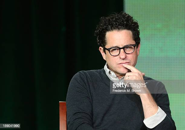 Executive Producer JJ Abrams speaks onstage at the Revolution panel session during the NBCUniversal portion of the 2013 Winter TCA Tour Day 3 at the...