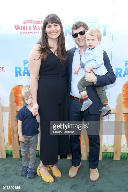 Executive Producer Jodi Hildebrand and guests attend the premiere of 'Peter Rabbit' sponsored by Cost Plus World Market at The Grove on February 3...