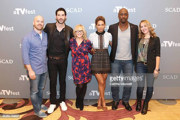 Executive Producer Joe Henderson Actor Tom Ellis Actress Rachael Harris Actress LesleyAnn Brandt Actor DB Woodside and Executive Producer Ildy...