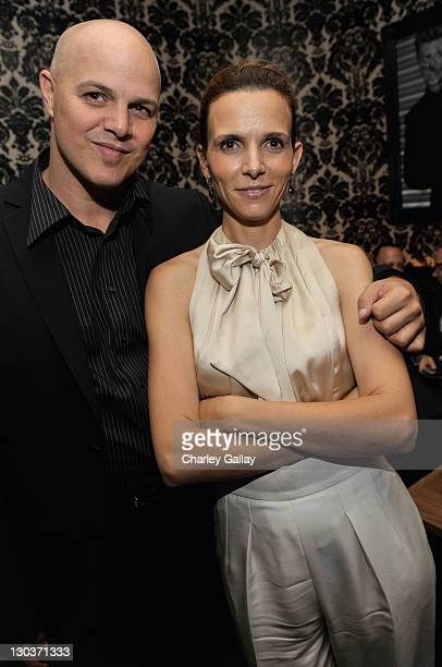Executive producer Joey Rappa and Luciana Duvall attends the 'Get Low' Party Hosted By Greenhouse during the 2009 Toronto International Film Festival...