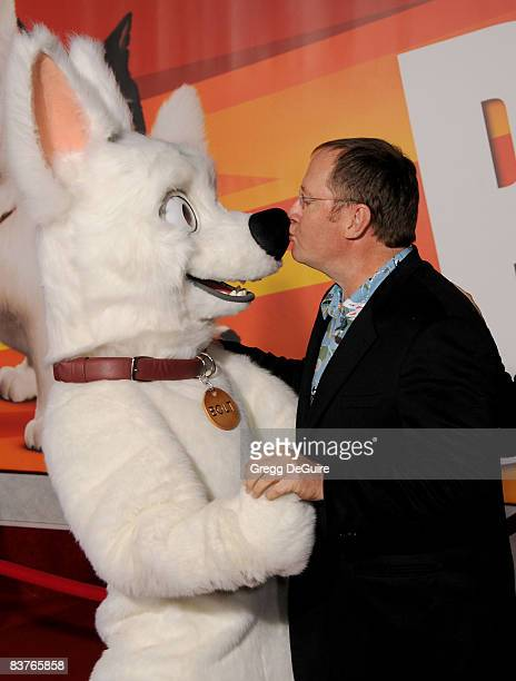 Executive Producer John Lasseter arrives at the Los Angeles Premiere of 'Bolt' at the El Capitan Theatre on November 17 2008 in Hollywood California