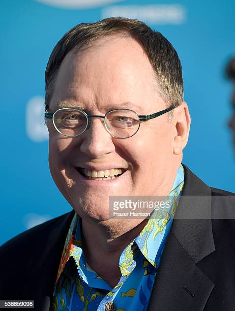 Executive producer John Lasseter attends the world premiere of DisneyPixar's 'Finding Dory' at the El Capitan Theatre on June 8 2016 in Hollywood...