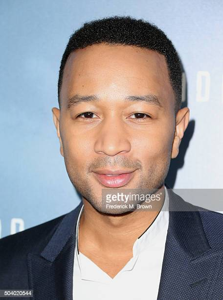 Executive Producer John Legend Underground attends WGN America Winter TCA Tour Underground photocall at Langham Hotel on January 8 2016 in Pasadena...