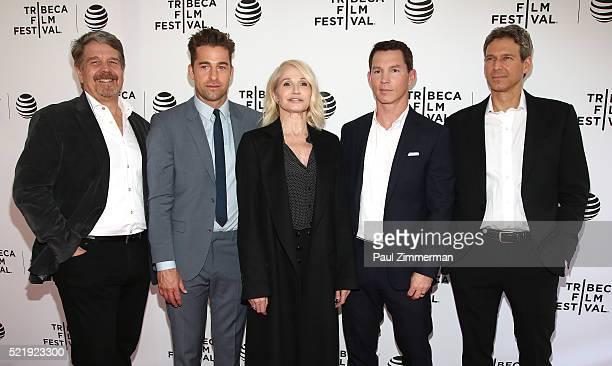 Executive Producer John Wells, Actor Scott Speedman, Actor Ellen Barkin, Actor Shawn Hatosy and Executive Producer, writer Jonathan Lisco at Series...