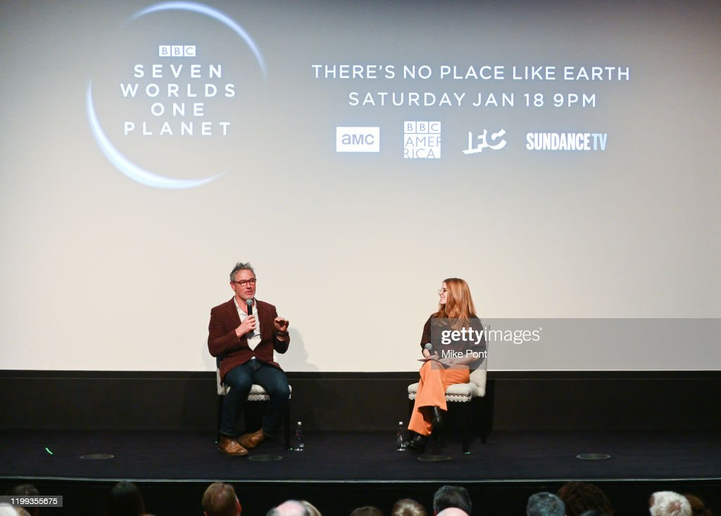 """Seven Worlds, One Planet"" Screening : News Photo"