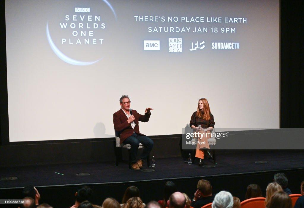 """Seven Worlds, One Planet"" Screening : News Photo"
