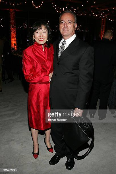 BAM executive producer Joseph Melillo and Cynthia Mayeda attend the BAM 2007 Spring Gala celebrating the premiere of Edward Scissorhands on March 14...
