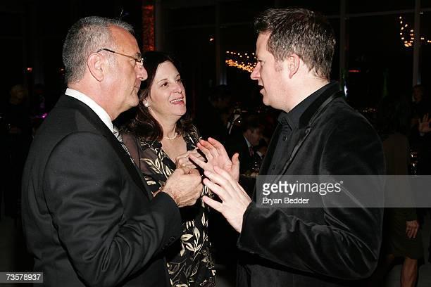 BAM executive producer Joseph Melillo BAM president Karen Brooks Hopkins and DirectorChoreographer Matthew Bourne attend the BAM 2007 Spring Gala...
