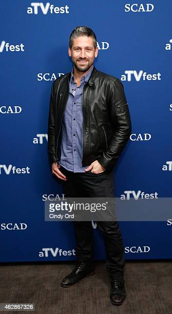 Executive producer Josh Barry attends the 'Salem' press junket during aTVfest presented by SCAD on February 6, 2015 in Atlanta, Georgia.
